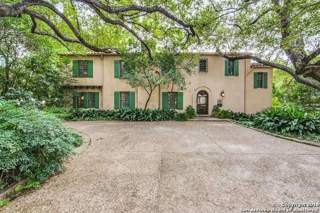 110 Paseo Encinal St, Olmos Park, TX 78212 (MLS #1290538) :: Exquisite Properties, LLC