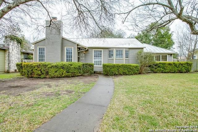 110 Claywell Dr, Alamo Heights, TX 78209 (MLS #1293461) :: The Castillo Group