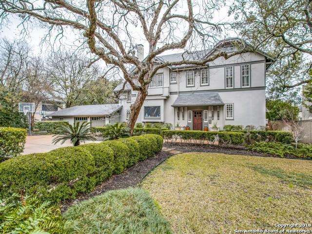 336 Terrell Rd, Terrell Hills, TX 78209 (MLS #1293507) :: The Castillo Group