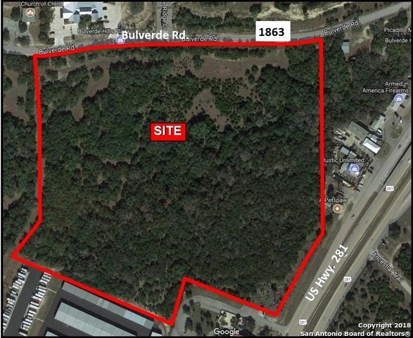 0 N Highway 281, Bulverde, TX 78163 (MLS #1293930) :: Ultimate Real Estate Services