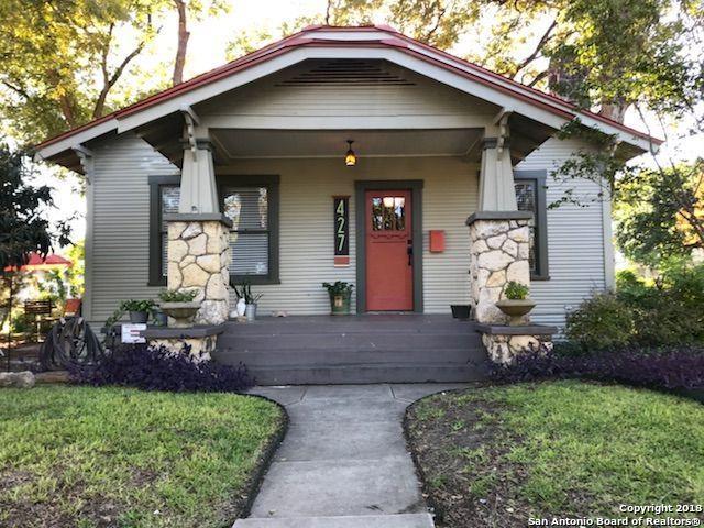 427 Wickes St, San Antonio, TX 78210 (MLS #1294047) :: The Castillo Group