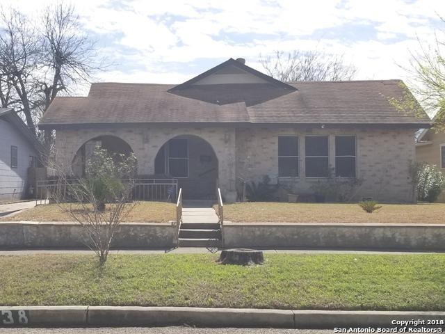 438 Bailey Ave, San Antonio, TX 78210 (MLS #1295419) :: Exquisite Properties, LLC