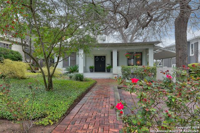 123 Kennedy Ave, Alamo Heights, TX 78209 (MLS #1295774) :: Ultimate Real Estate Services