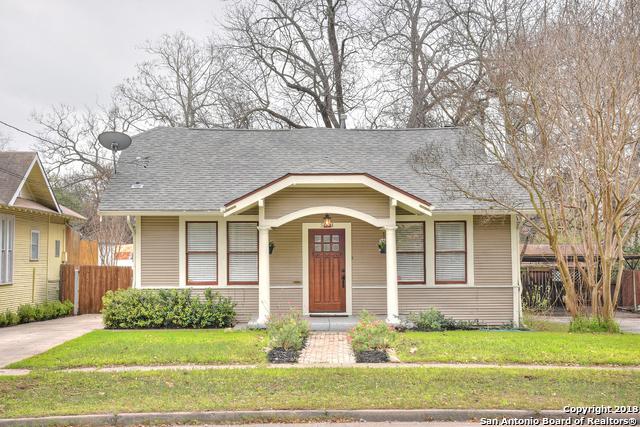 504 E Mulberry Ave, San Antonio, TX 78212 (MLS #1295841) :: The Castillo Group