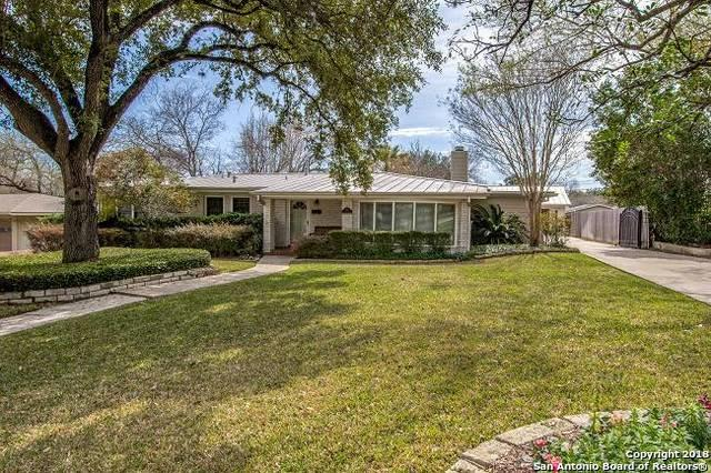 608 Morningside Dr, Terrell Hills, TX 78209 (MLS #1296536) :: The Castillo Group