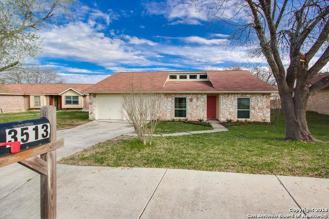 3513 Cliffside Dr, Schertz, TX 78108 (MLS #1296867) :: Exquisite Properties, LLC