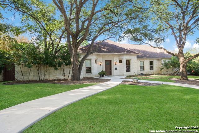815 Ridgemont Ave, San Antonio, TX 78209 (MLS #1297163) :: The Castillo Group