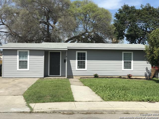 587 Overhill Dr, San Antonio, TX 78228 (MLS #1298336) :: The Castillo Group