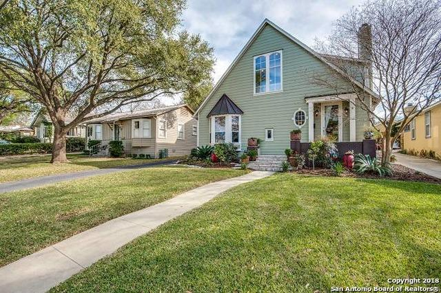 420 Normandy Ave, Alamo Heights, TX 78209 (MLS #1298704) :: Exquisite Properties, LLC