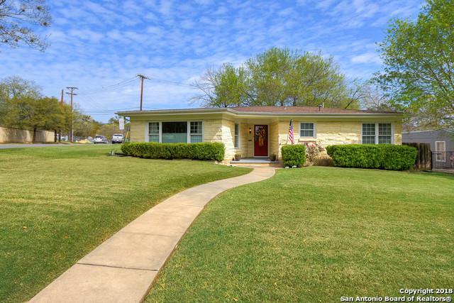 101 Bryker Dr, Terrell Hills, TX 78209 (MLS #1298970) :: The Castillo Group