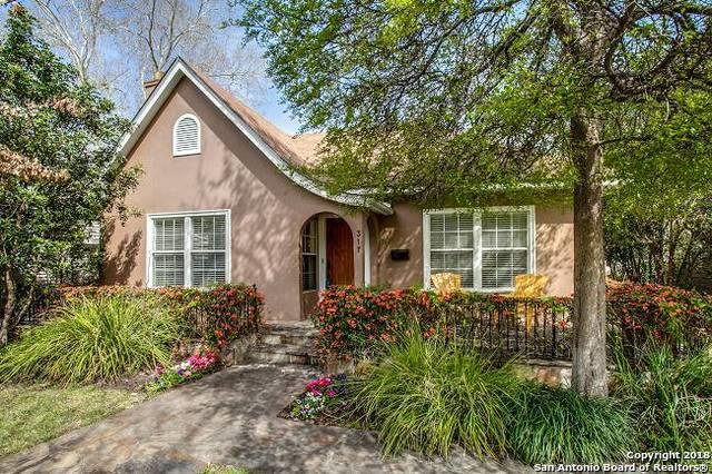 317 Corona Ave, Alamo Heights, TX 78209 (MLS #1299333) :: Exquisite Properties, LLC