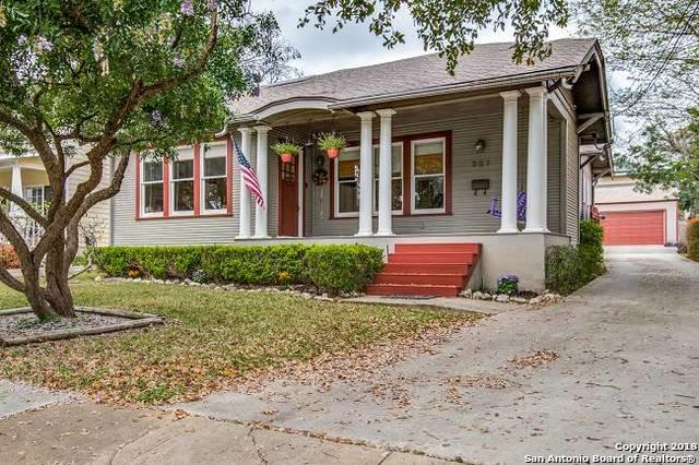 321 Argo Ave, Alamo Heights, TX 78209 (MLS #1299604) :: Exquisite Properties, LLC