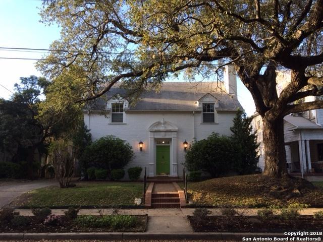 414 W Lynwood Ave, San Antonio, TX 78212 (MLS #1299658) :: Exquisite Properties, LLC