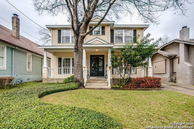 323 Argo Ave, Alamo Heights, TX 78209 (MLS #1299799) :: Exquisite Properties, LLC