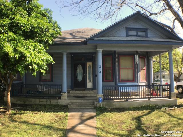 214 Lotus Ave, San Antonio, TX 78210 (MLS #1301875) :: Exquisite Properties, LLC