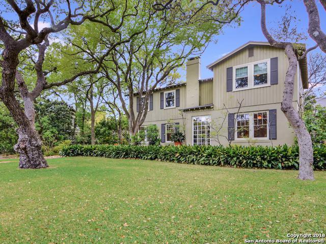 317 Lamont Ave, San Antonio, TX 78209 (MLS #1302108) :: Ultimate Real Estate Services