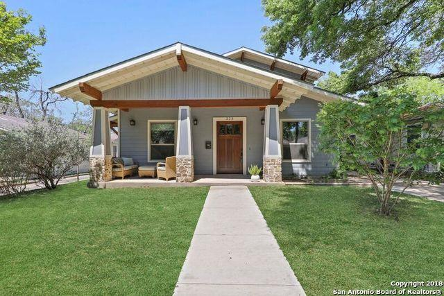 223 Corona Ave, Alamo Heights, TX 78209 (MLS #1302368) :: Ultimate Real Estate Services