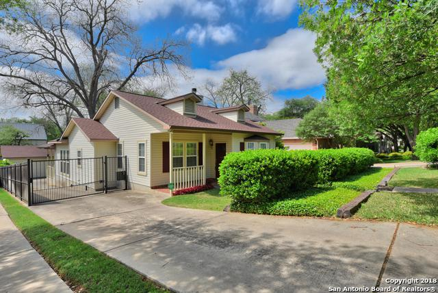 246 Montclair St, Alamo Heights, TX 78209 (MLS #1303246) :: Ultimate Real Estate Services