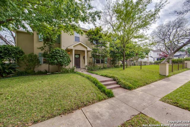312 Blue Bonnet Blvd, Alamo Heights, TX 78209 (MLS #1303283) :: Ultimate Real Estate Services