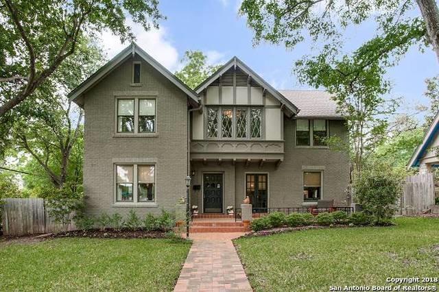 101 Ridgemont Ave, Terrell Hills, TX 78209 (MLS #1303992) :: The Castillo Group