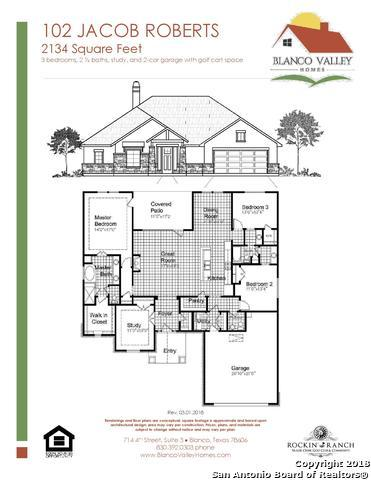 102 Jacob Roberts, Blanco, TX 78606 (MLS #1305124) :: Ultimate Real Estate Services
