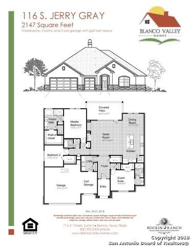 116 S Jerry Gray, Blanco, TX 78606 (MLS #1305138) :: Ultimate Real Estate Services