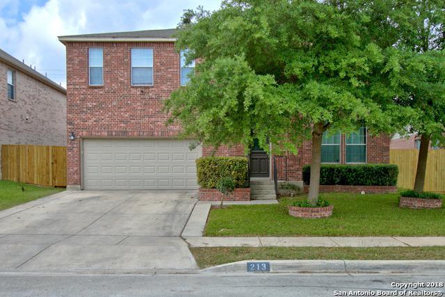 213 Springtree Trail, Cibolo, TX 78108 (MLS #1305259) :: Exquisite Properties, LLC