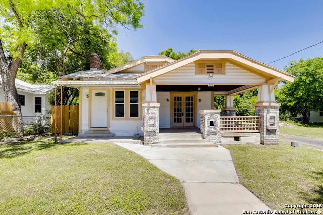 826 E Erie Ave, San Antonio, TX 78212 (MLS #1305577) :: Berkshire Hathaway HomeServices Don Johnson, REALTORS®