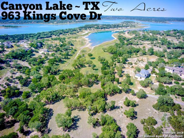 963 Kings Cove Dr, Canyon Lake, TX 78133 (MLS #1308574) :: Alexis Weigand Real Estate Group