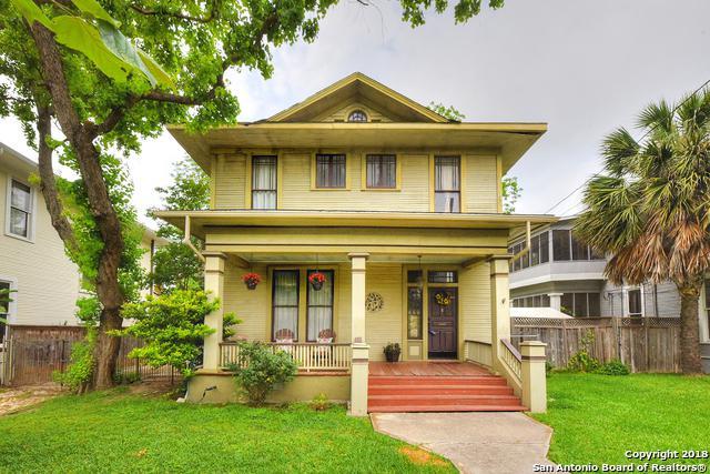 405 Gillespie St, San Antonio, TX 78212 (MLS #1309310) :: Erin Caraway Group