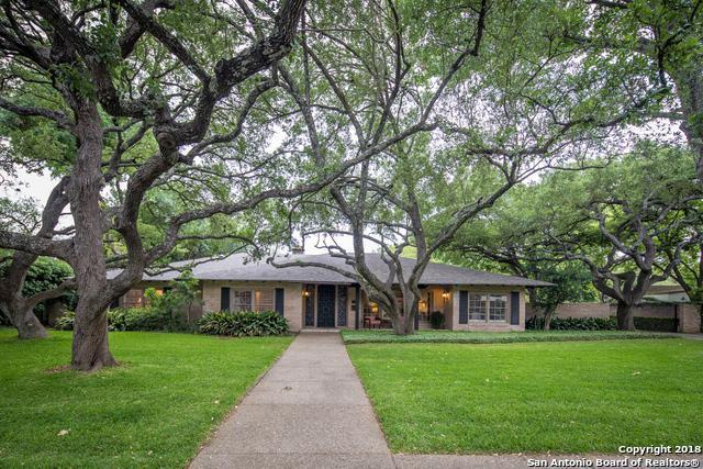 7615 Woodhaven St, San Antonio, TX 78209 (MLS #1309797) :: The Suzanne Kuntz Real Estate Team