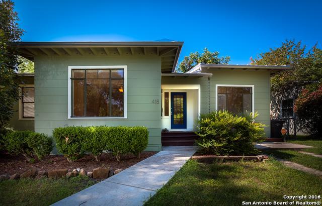 418 Brees Blvd, San Antonio, TX 78209 (MLS #1310103) :: Erin Caraway Group