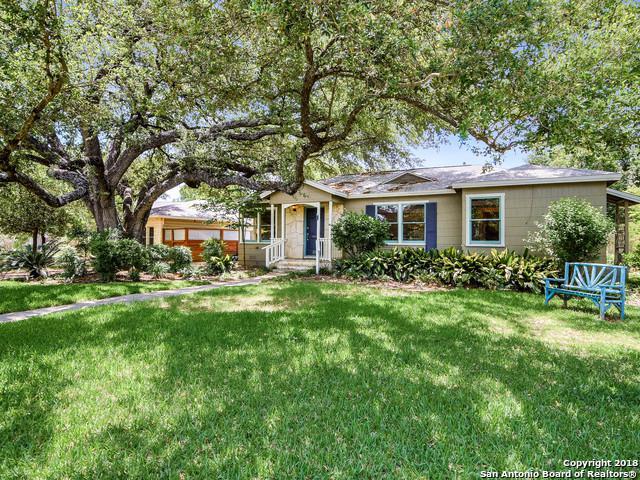 356 Larchmont Dr, San Antonio, TX 78209 (MLS #1310532) :: Erin Caraway Group