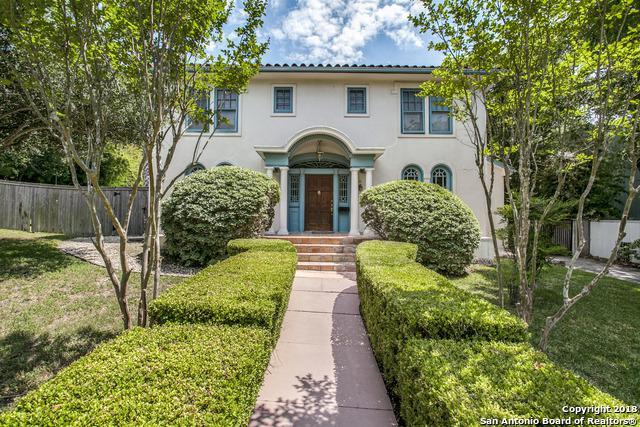 136 Barilla Pl, Alamo Heights, TX 78209 (MLS #1313296) :: The Castillo Group