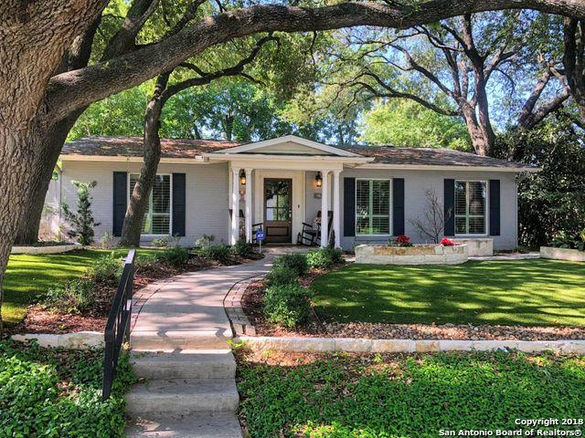 106 Wildrose Ave, Alamo Heights, TX 78209 (MLS #1315384) :: Neal & Neal Team
