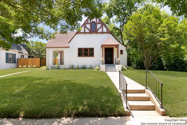 230 W Rosewood Ave, San Antonio, TX 78212 (MLS #1317543) :: Exquisite Properties, LLC