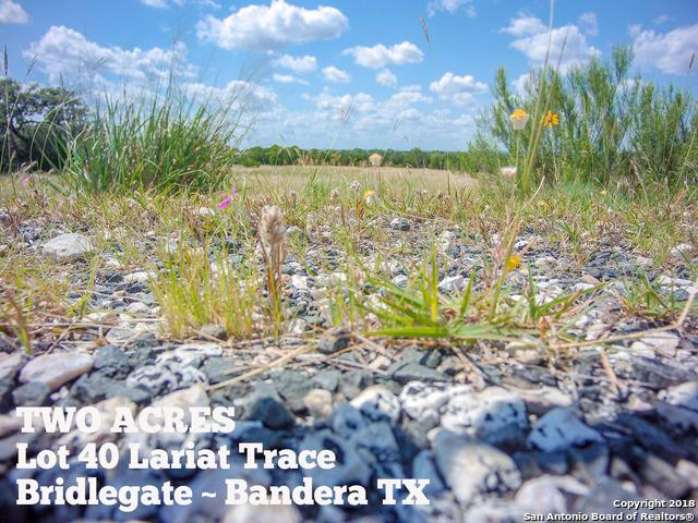 LOT 40 Lariat Trace, Bandera, TX 78003 (MLS #1317567) :: Exquisite Properties, LLC