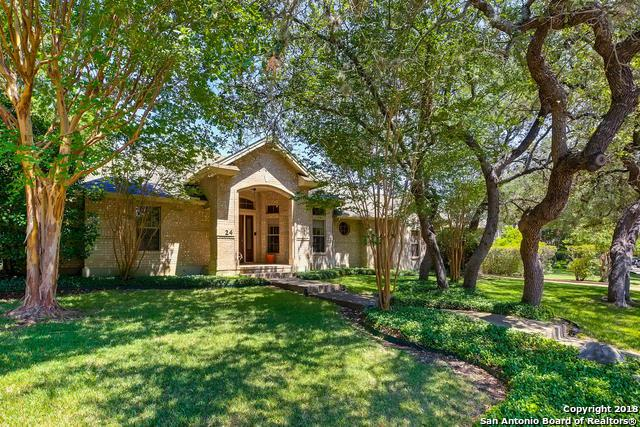 24 Inwood Manor, San Antonio, TX 78248 (MLS #1317665) :: Alexis Weigand Real Estate Group