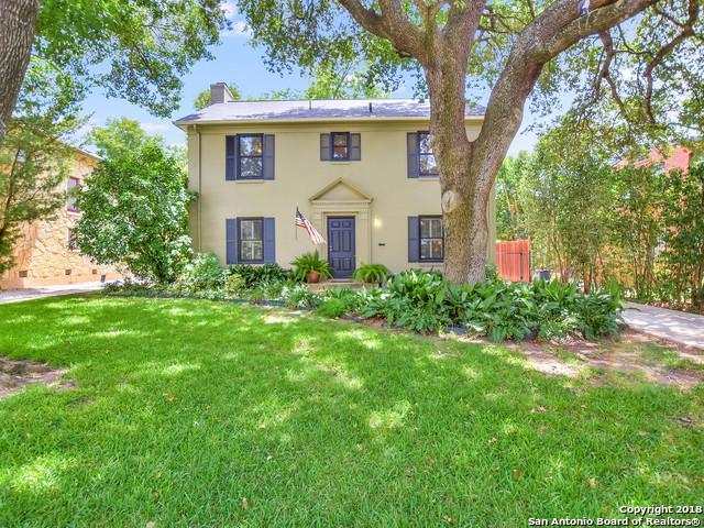 106 Stanford Dr, San Antonio, TX 78212 (MLS #1318815) :: Tami Price Properties Group