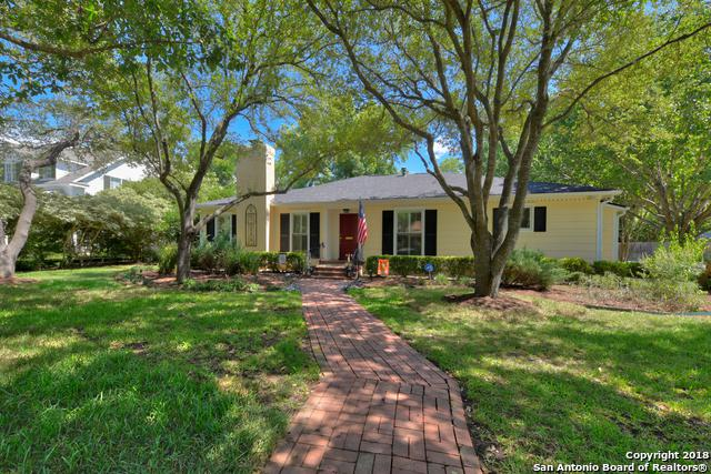 802 Wiltshire Ave, Terrell Hills, TX 78209 (MLS #1319107) :: The Castillo Group