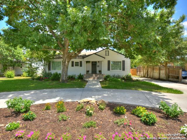 114 Larchmont Dr, San Antonio, TX 78209 (MLS #1323642) :: Erin Caraway Group
