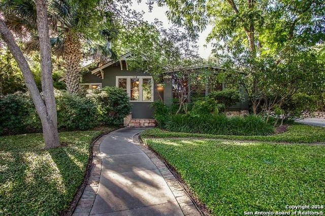 112 Mayflower St, Alamo Heights, TX 78209 (MLS #1323679) :: Ultimate Real Estate Services