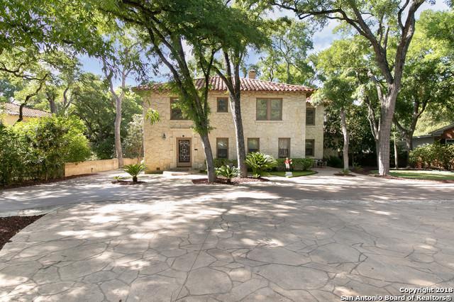 433 E Hildebrand Ave, San Antonio, TX 78212 (MLS #1324187) :: Exquisite Properties, LLC