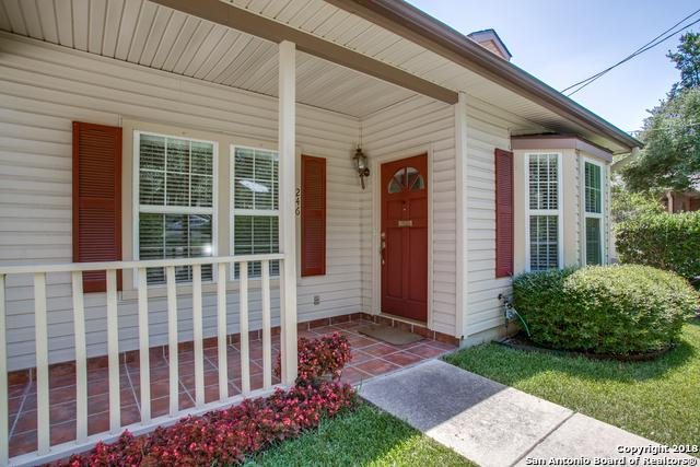 246 Montclair St, Alamo Heights, TX 78209 (MLS #1327069) :: The Castillo Group