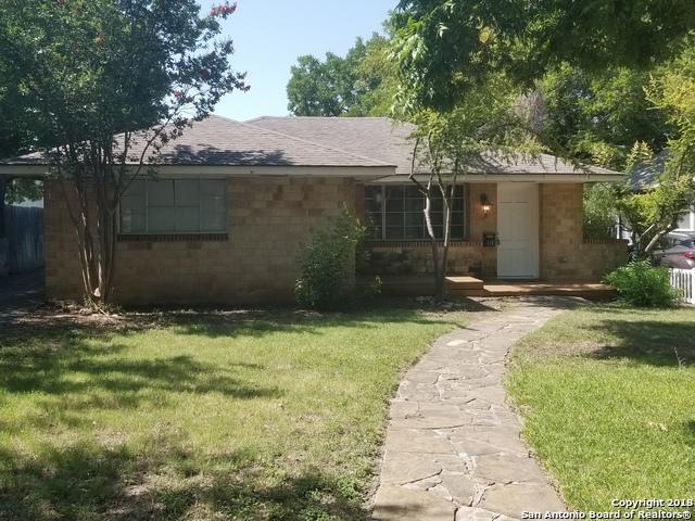 114 Evans Ave, Alamo Heights, TX 78209 (MLS #1327247) :: Exquisite Properties, LLC