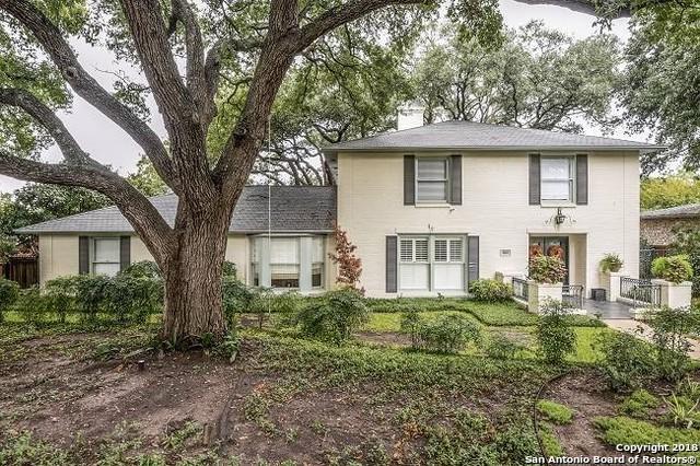 605 Arcadia Pl, Terrell Hills, TX 78209 (MLS #1328641) :: The Castillo Group