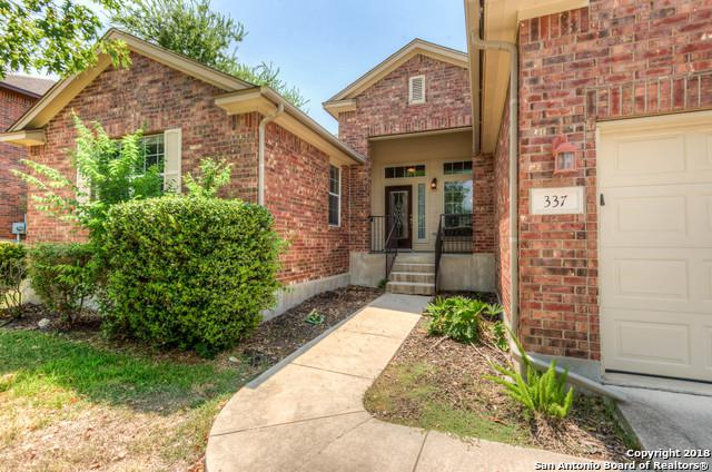 337 Brush Trail Bend, Cibolo, TX 78108 (MLS #1329215) :: Alexis Weigand Real Estate Group