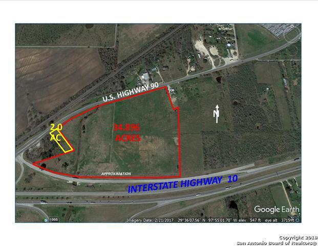 0000 E Us Hwy 90, Seguin, TX 78155 (MLS #1329243) :: Alexis Weigand Real Estate Group