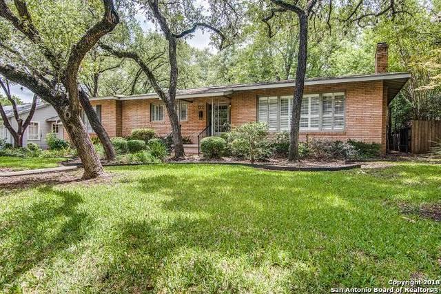 122 Brightwood Pl, San Antonio, TX 78209 (MLS #1332625) :: The Suzanne Kuntz Real Estate Team