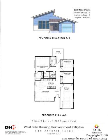 1010 NW 27TH ST, San Antonio, TX 78228 (MLS #1332728) :: NewHomePrograms.com LLC